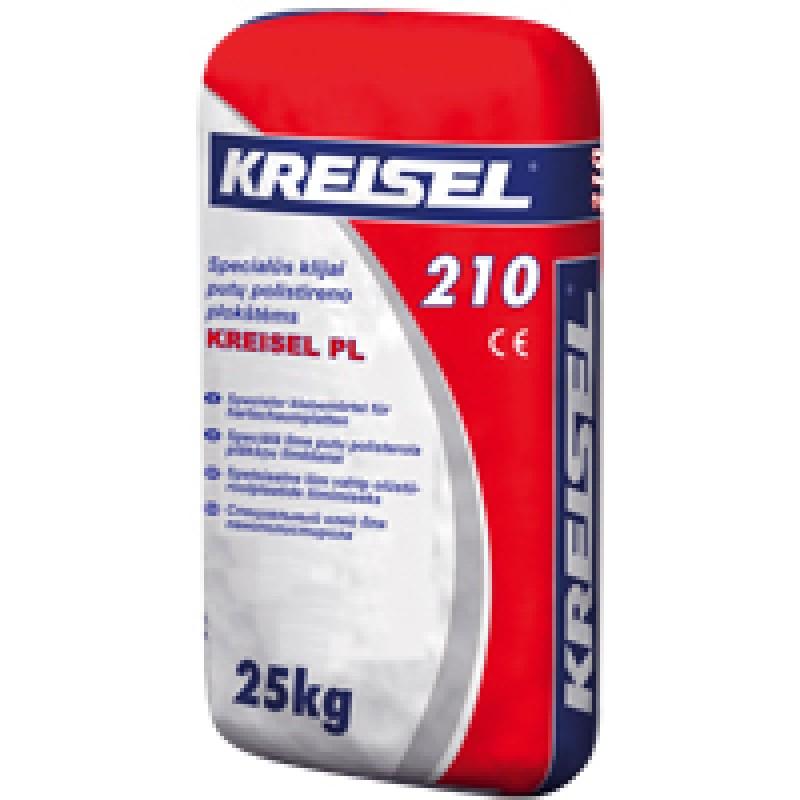 Specialūs klijai putų polistireno plokštėms Kreisel PL 210 25,0kg