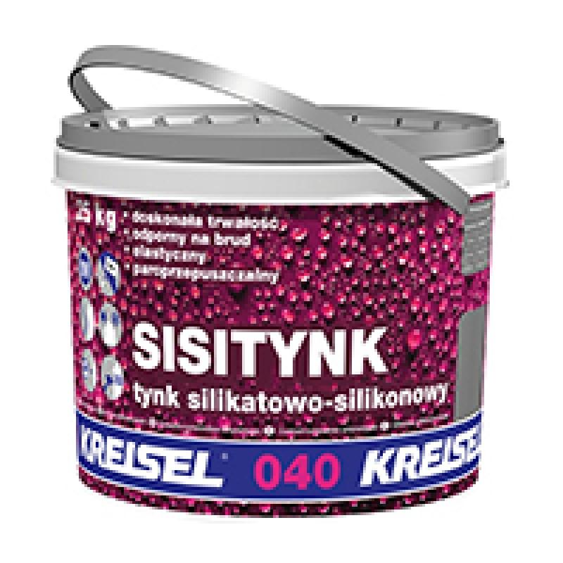 Dekoratyvinis silikon-silikatinis tinkas SILIKON-SILIKATPUTZ 040 25.0kg