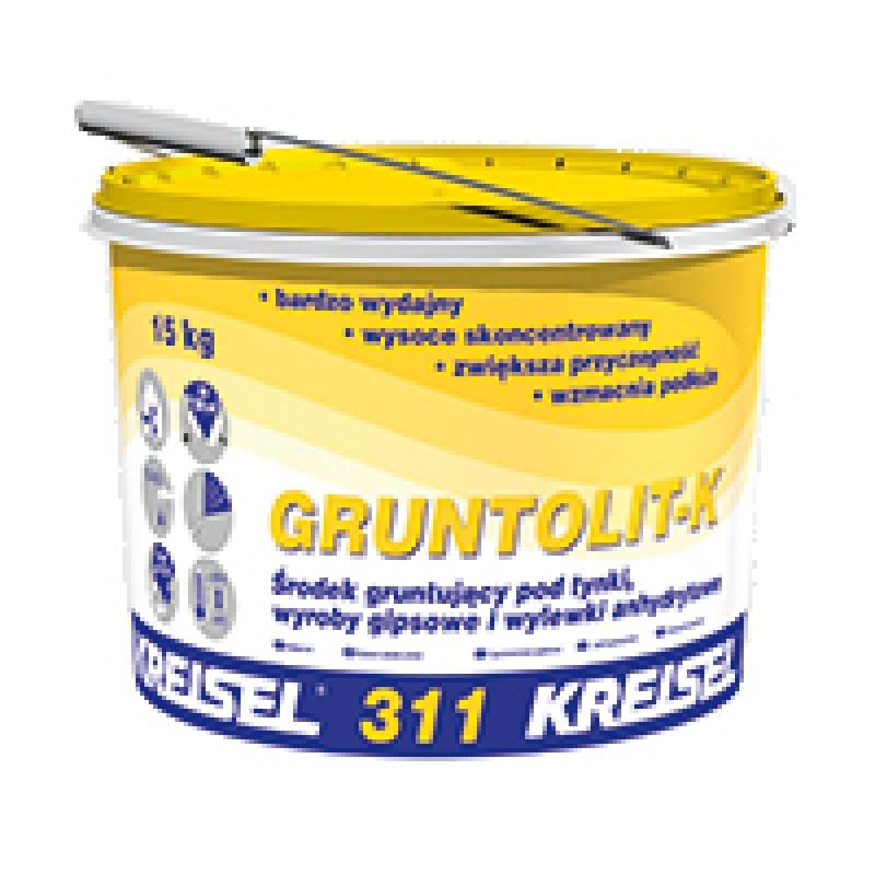 Koncentruotas gruntas prieš gipsinius ir anhidrito mišinius Kreisel Gruntolit-K 311 15,0kg.
