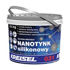 Dekoratyvinis nano-silikoninis tinkas SILICON PROTECT 031 25.0kg