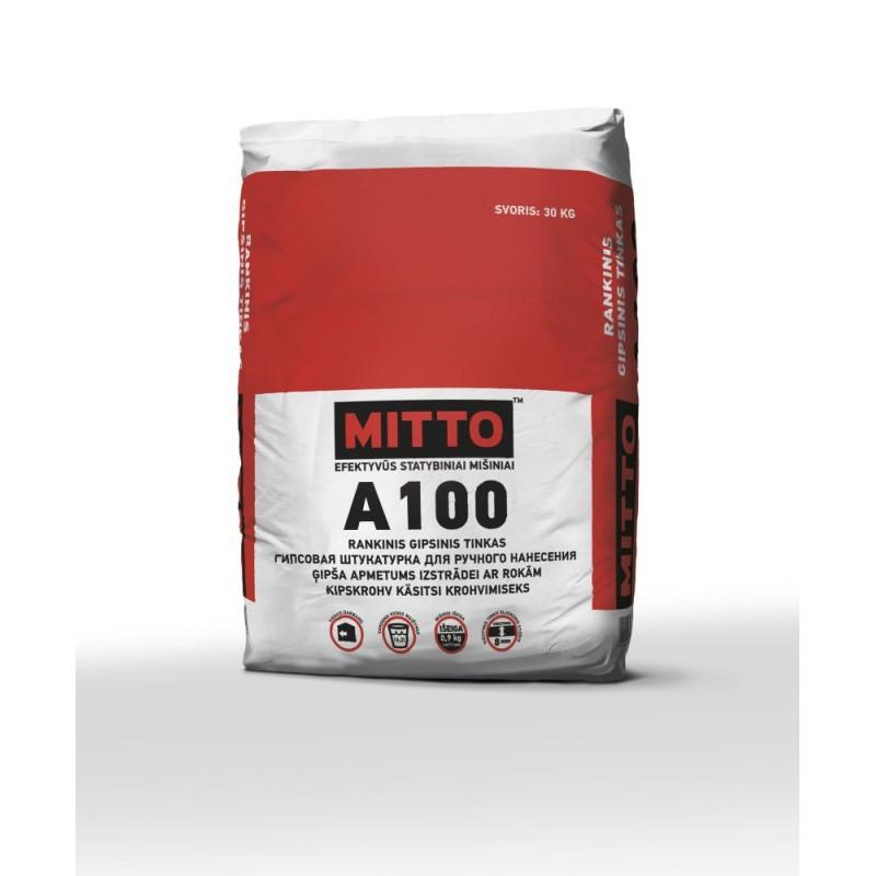 Rankinis gipsinis tinkas Mitto A100 30,0kg