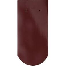 Keraminė čerpė OPAL Tamsi raudona kvarcinė angoba
