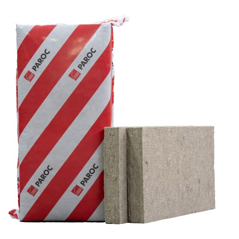Akmens vata Paroc Solid 75x610x1220 mm, universali 7,44m²/0,558m³