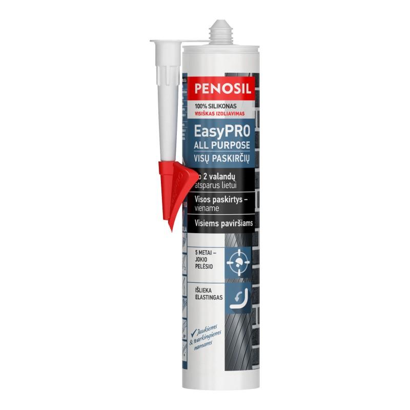 Silikoninis hermetikas Penosil EasyPRO All Purpose (juodas)