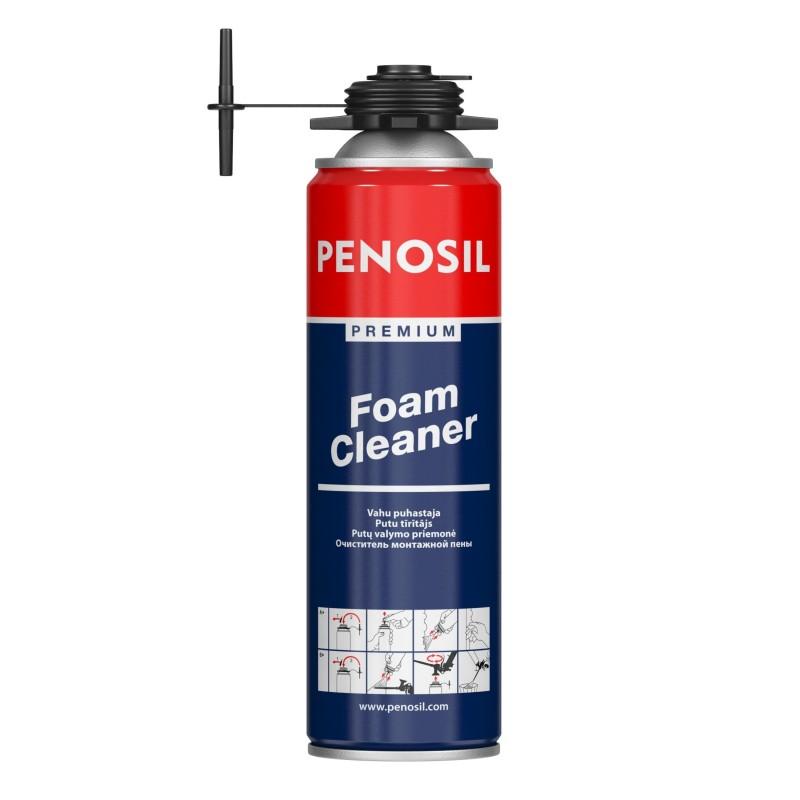 Montažinių putų valiklis Penosil Premiuim Foam Cleaner 500ml