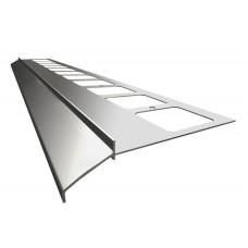 Renoplast terasų ir balkonų užbaigimo profilis kereminių plytelių gindų dangai K100