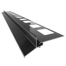 Renoplast terasų ir balkonų užbaigimo profilis kereminių plytelių gindų dangai K102
