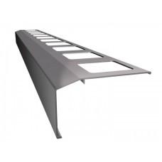 Renoplast terasų ir balkonų užbaigimo profilis kereminių plytelių gindų dangai K301