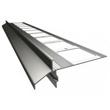Renoplast terasų ir balkonų užbaigimo profilis kereminių plytelių gindų dangai K40