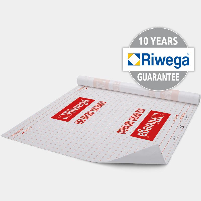 Riwega aktyvi garo izoliacinė plėvelė USB 100 Vario 100 g/m²