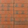 Terca apdailinė plyta FAT 65 raudona redukuota F2F smėlėtu paviršium 250x85x65