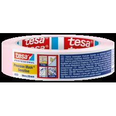 Dažymo juosta Tesa Precision Mask Sensitive 25mmx50m, jautriems paviršiams