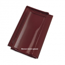Tondach Stodo 12 Maroon brown glazed