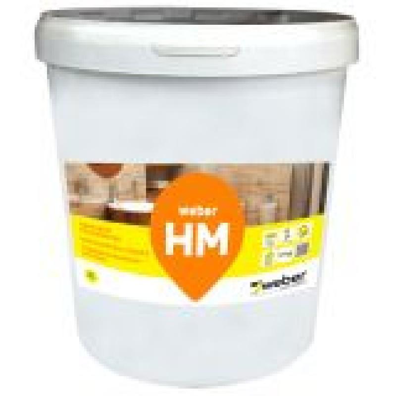 Polimerinė hidroizoliacija Weber HM 17,0kg