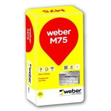 Cementinis mūro mišinys Weber M75 25,0kg