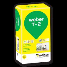Cementinis kalkinis tinkas Weber T-2 25,0kg