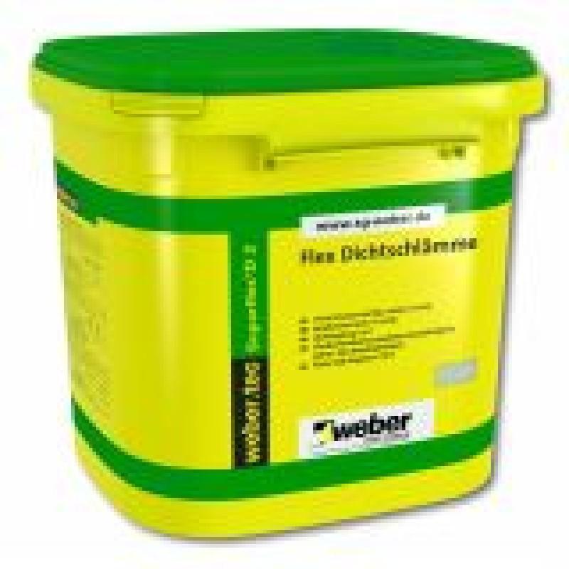 Dvikomponentė labai elastinga cementinė hidroizoliacija Weber Tec Superflex 2D 5,0kg