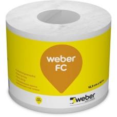 Hidroizoliacinė juosta Weber FC 125mmx40,0m