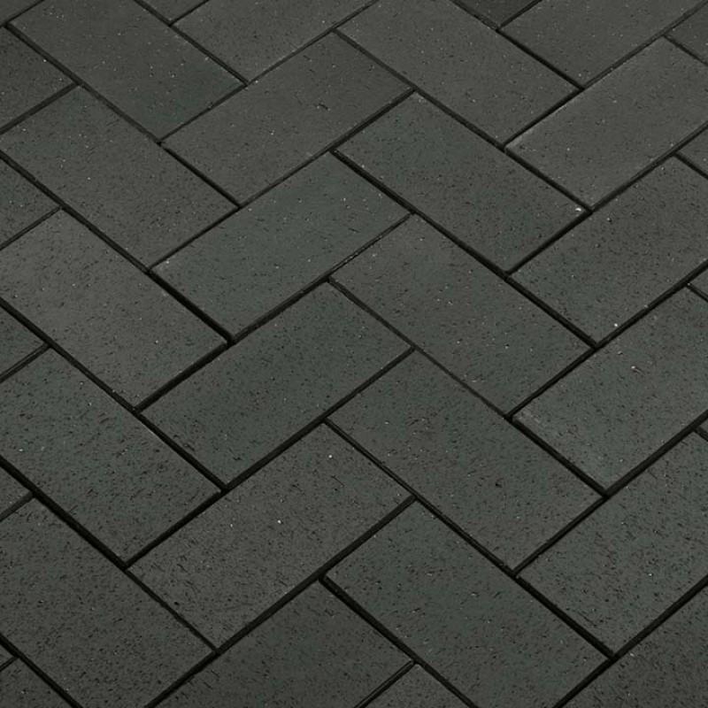 Aseri klinkerinės grindnio trinkelės STT Grafit Kare 250x60x52