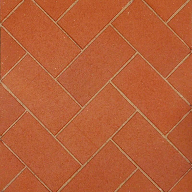 Aseri klinkerinės grindnio trinkelės STT raudona Kare 200x100x52